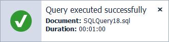SQL Complete Notification